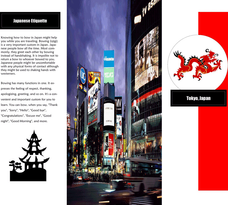 travel brochure examples for students