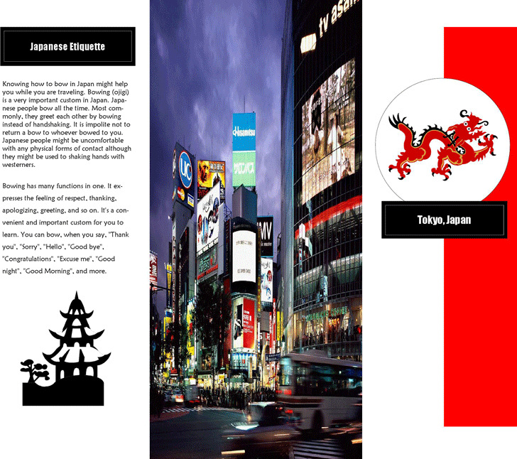 Travel Brochure Example