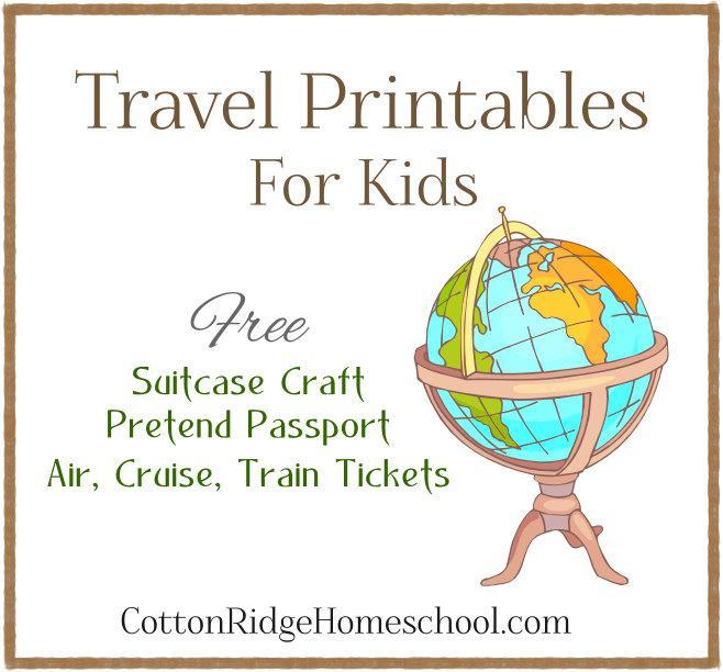 Traveling Passport Template