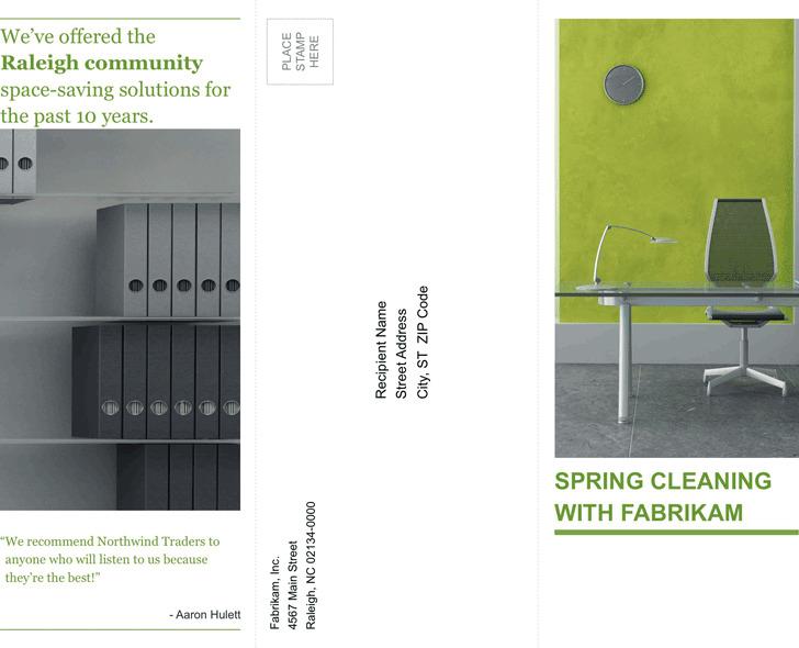 Tri-Fold Business Brochure Template 1