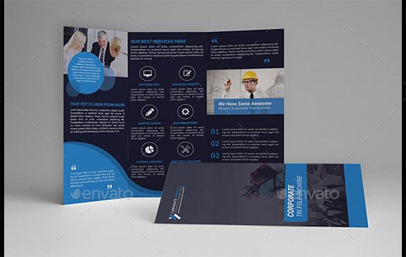 Tri-Fold Corporate Brochure