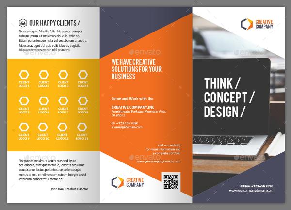 Creative Brochure Template Download Free Premium Templates - Free creative brochure templates