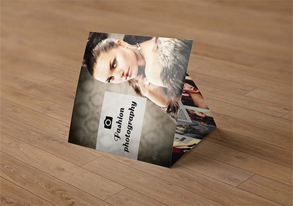 Tri-fold Professional Photography Brochure