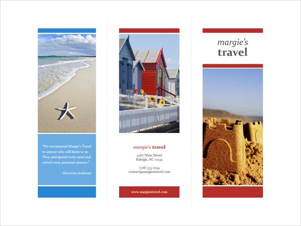 Tri-fold Travel Brochure