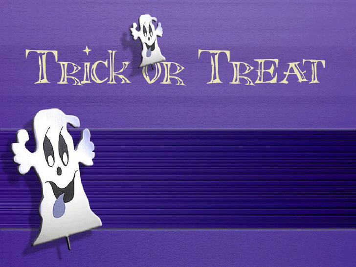Trick or Treat Design Slides