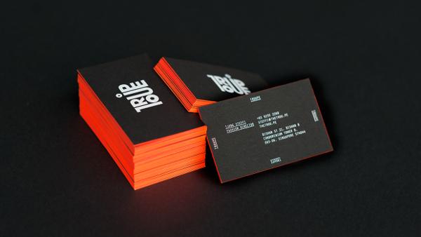 Troupe Business Cards Design