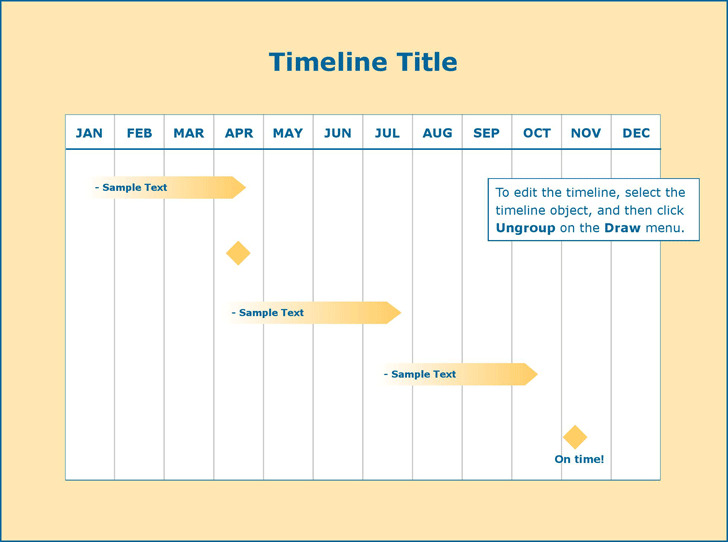 Blank Timeline Template  Download Free  Premium Templates Forms