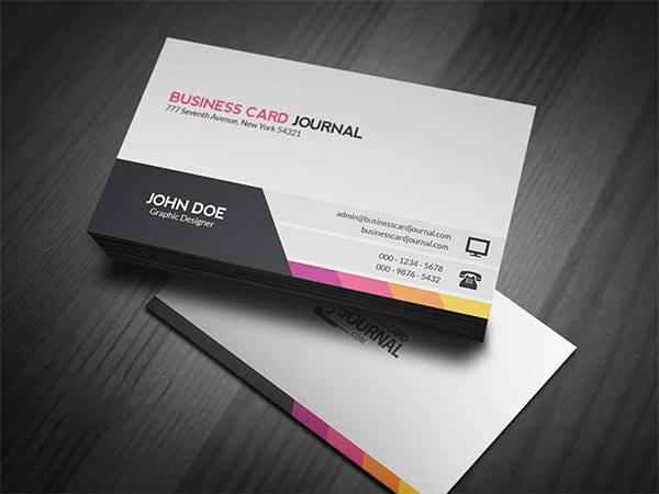 Unique & Modern Corporate Business Card Template