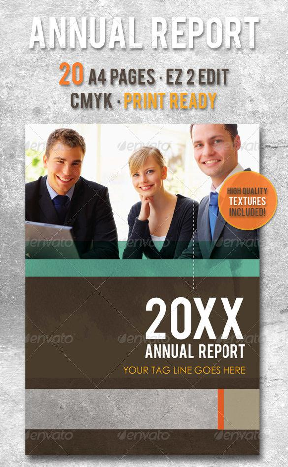 Unique Design Annual Report Template