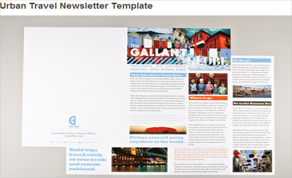 Urban Travel Newsletter Template