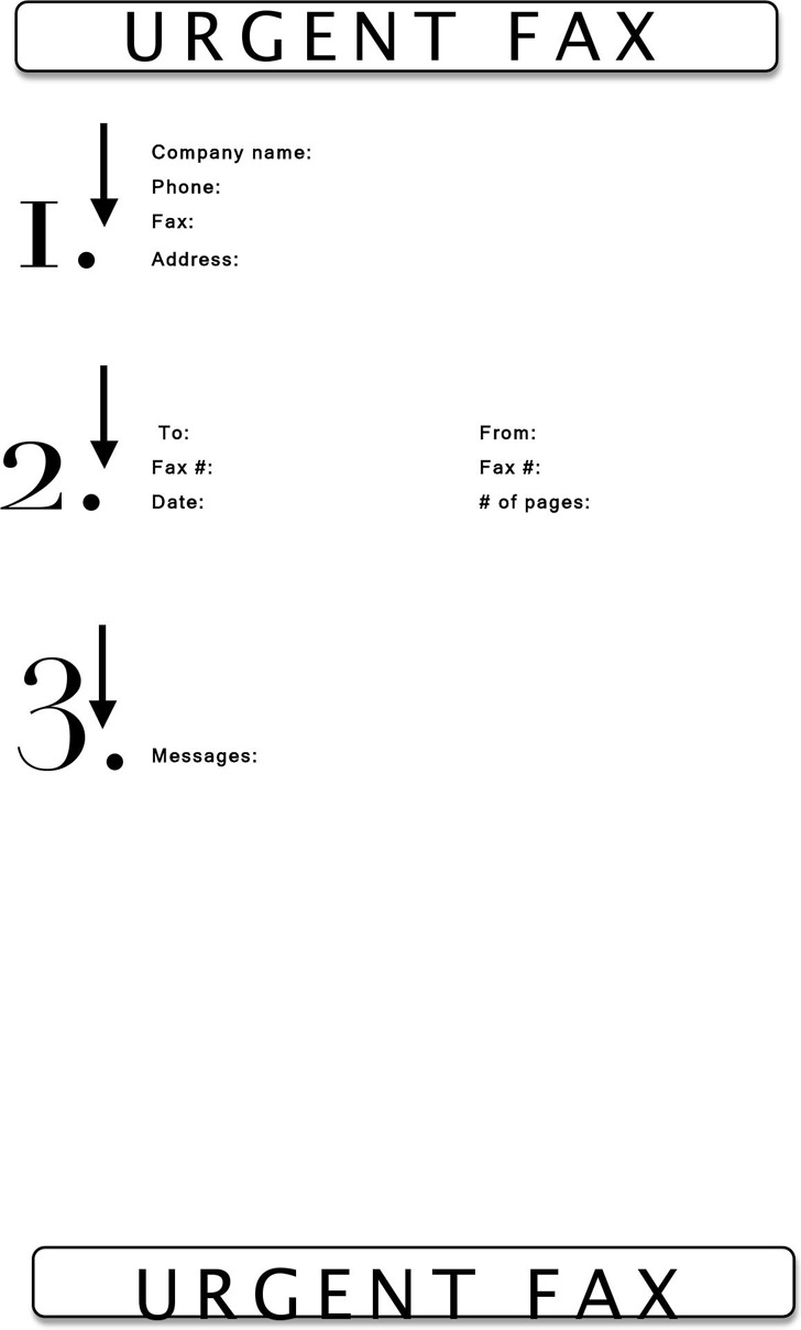Urgent Fax Cover Sheet 2