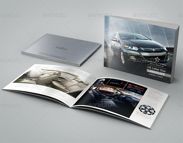 Awsome brochure sizes and psd design examples download for Letter size brochure template
