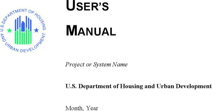 Template User Manual