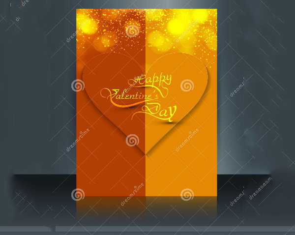 Valentine's Day Brochure Template to Download