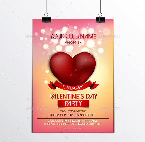 Valentines Day Brochure