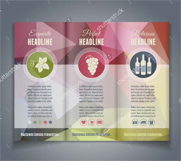 Wine brochures download free premium templates forms for Wine brochure template