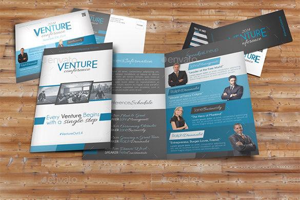 Venture Conference Brochure Pack