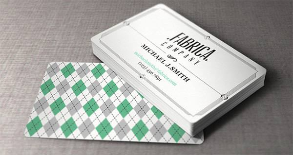 Vintage and Retro Style Business Card