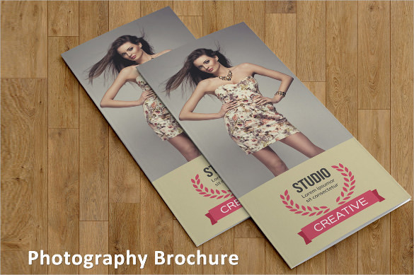 Vintage Photography Brochure Template