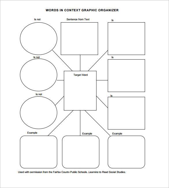 Vocabulary Graphic Organizer PDF Format Download