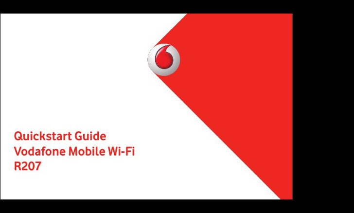 Vodafone User's Manual Sample
