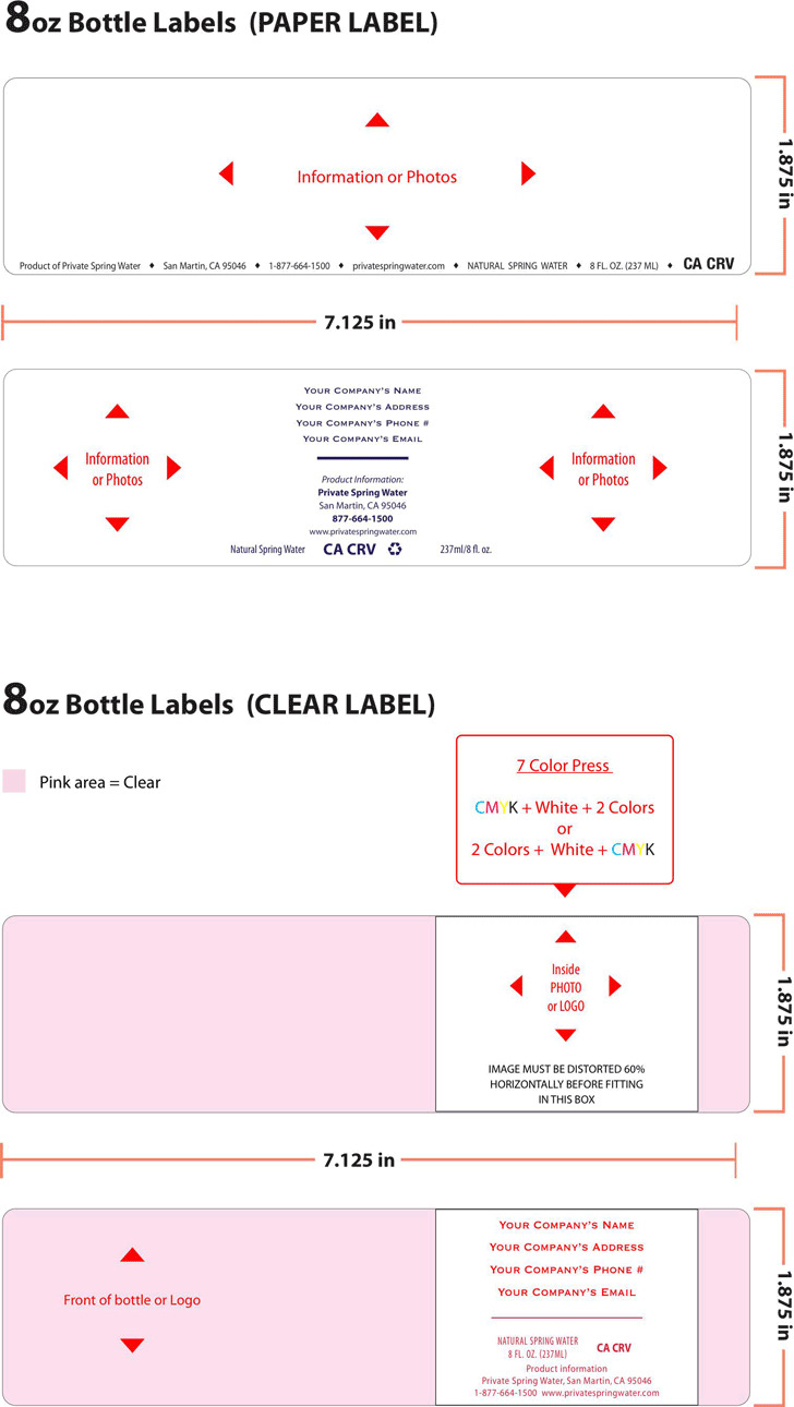 water bottle label template download free premium templates