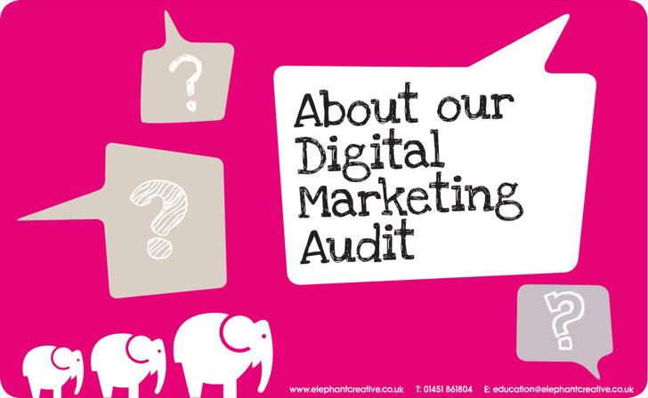 Web Digital Marketing Audit Template