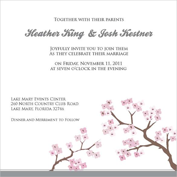 Wedding Invitation Templates Download Free Premium Templates
