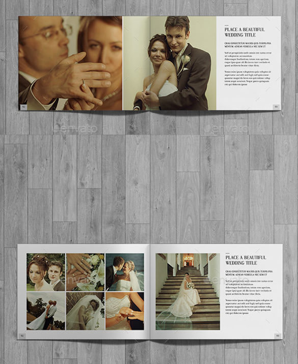 Wedding Photography Brochure Template Download