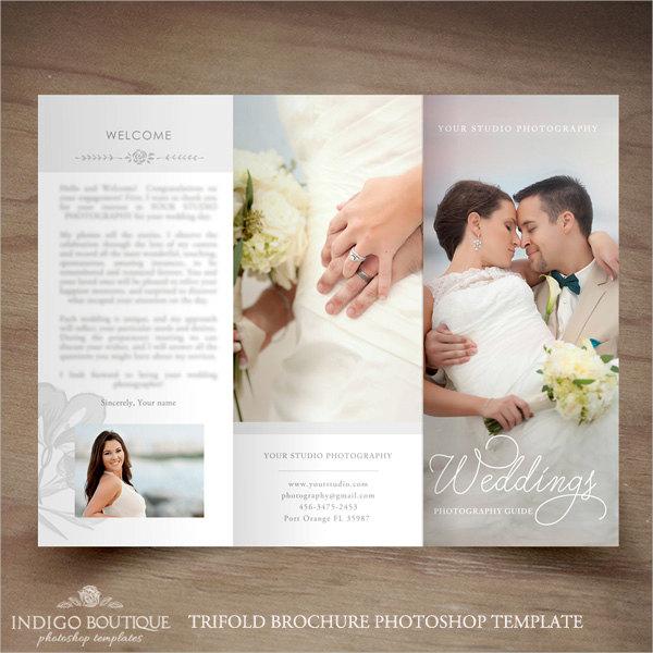 Wedding Photography Trifold Brochure