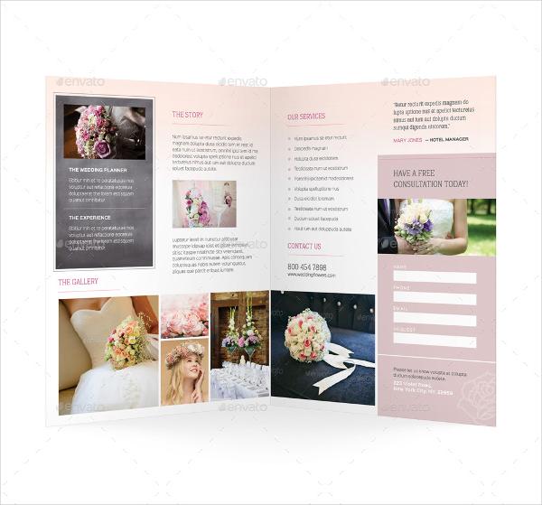 Wedding Planner Bifold Brochure