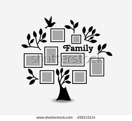 White Colour Family Genealogical Tree