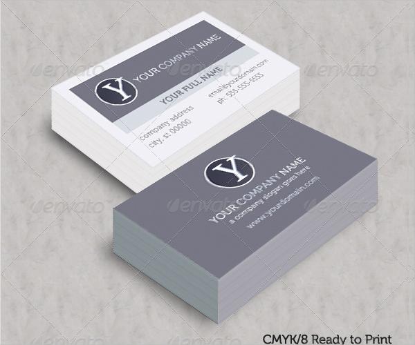 White Spot Uv Business Card