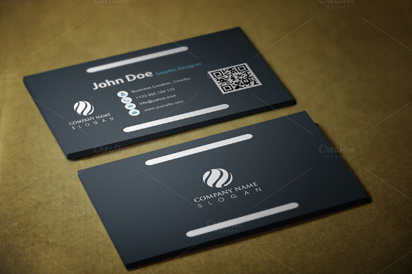 Whitestick Business Card Template Download