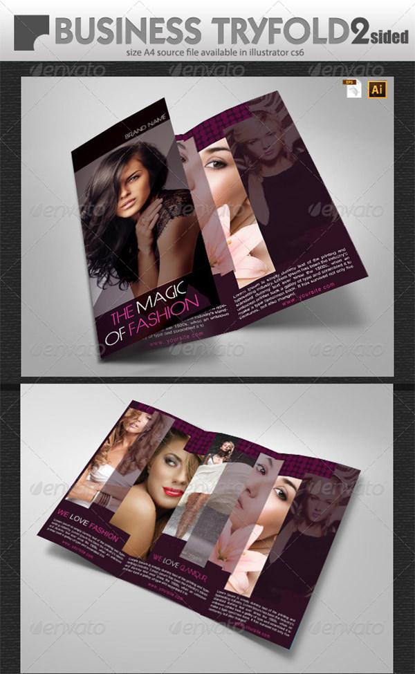 Women Fashion Brochure
