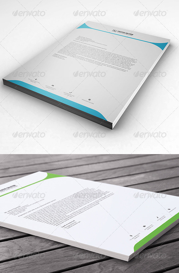 Word Letterhead for Sales & Marketing Director