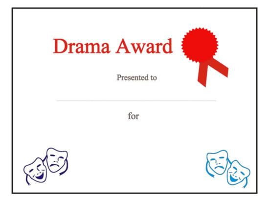 World Best Award Certificate Template