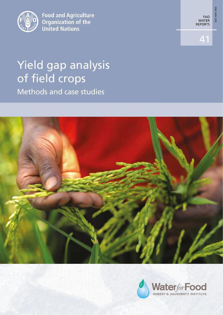 Yield Gap Analysis of Field Crops PDF