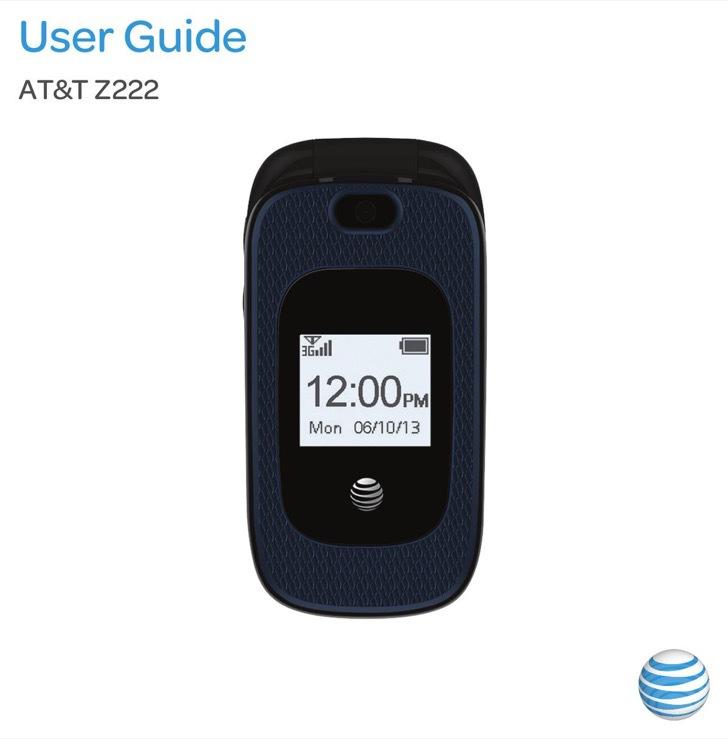 ZTE User's Manual Sample